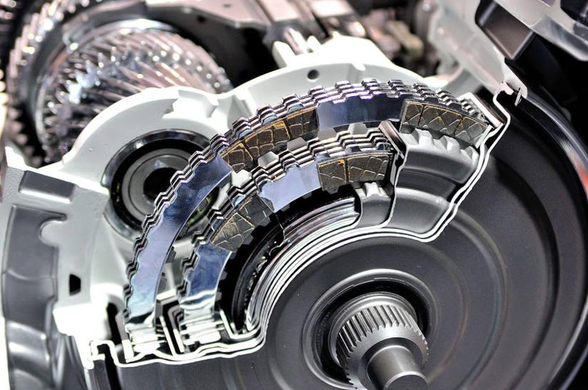 inside car transmission